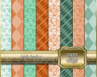 Irish Luck Digital Paper