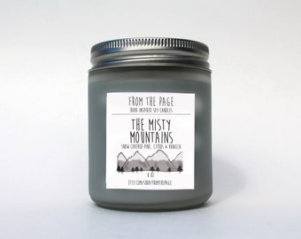 The Misty Mountains - 8 oz - soy candle