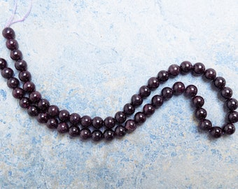 Cabernet Red Garnet beads
