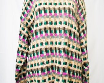 Vintage Benetton Mohair Blend sweater.