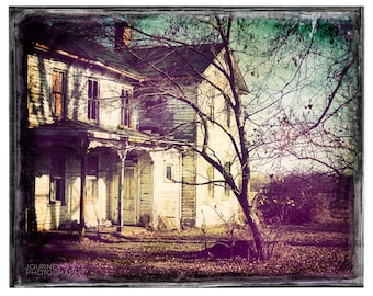 Midwest photograph, fine art photo, vintage, farmhouse, country art, retro photography, Illinois, 1800s - The Vintage Farm