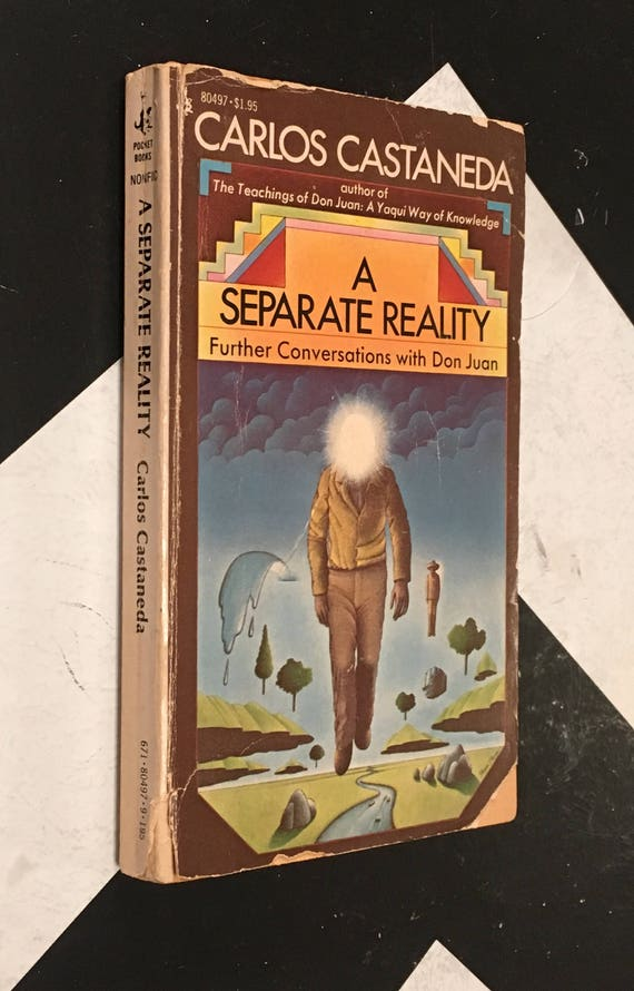 A Separate Reality: Further Conversations with Don Juan by Carlos Castaneda vintage shaman mystical eaoteric occult book (Softcover, 1976)