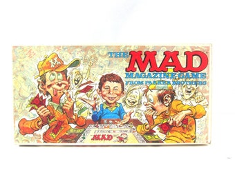 1979 MAD Magazine Game Vintage Retro Game Night 1970s Family Board Game