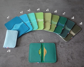 CARD cases - Double - Blue/Green