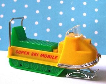 Wilton Super Ski Mobile Topper- Vintage Collectable Wilton