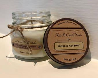 Tobacco Caramel Candle