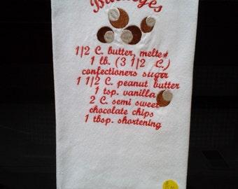 Buckeye Cookie asciugamano