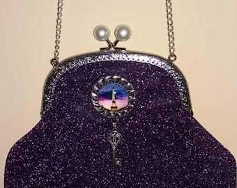 Purple metal mouthpiece Bag