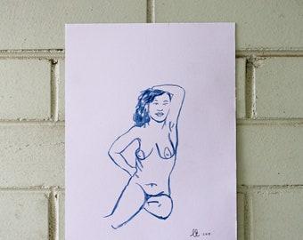life drawing 4.