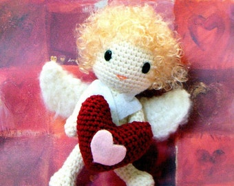 Amigurumi pattern - Lovely Cupid - Crochet amigurumi tutorial PDF
