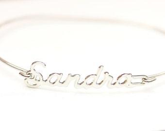 Vintage Name Bracelet - Sandra