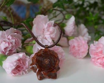 Pinecone Pendant Necklace Reiki Attuned