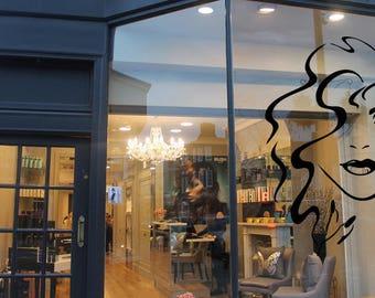 Wall Decal Nail Salon Art Beauty Salon Nail Stylist Nail Art Polish Manicure Woman Gift 1292t