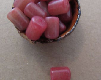 Bag of 16 g of beads in pink