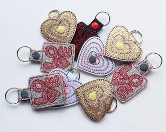 Valentine Key Rings
