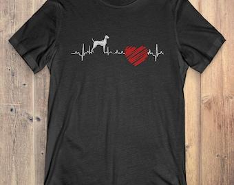 Vizsla Dog T-Shirt Gift: Vizsla Heartbeat