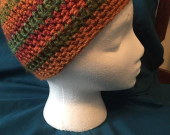 Fall color hat
