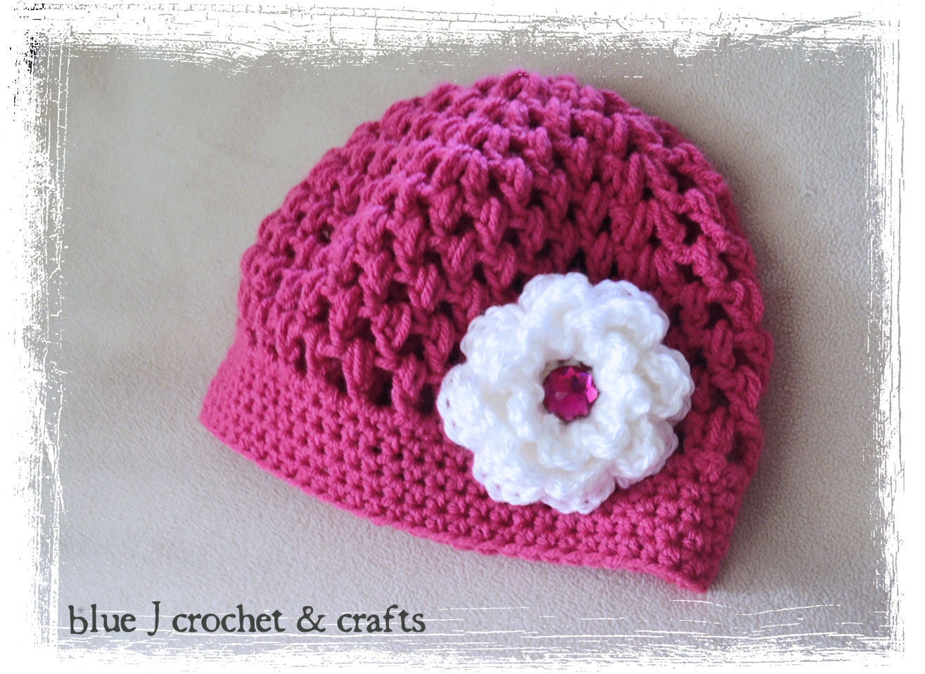 Crochet pattern seabreeze puff stitch hat nb to adult zoom bankloansurffo Images