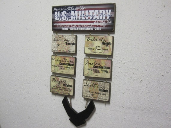 us military duty station military sign multiple branches