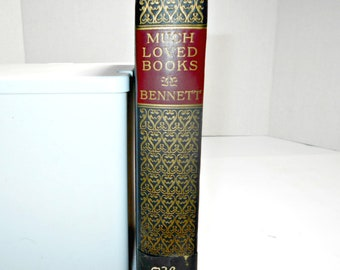 Much Loved Books by Bennett,1927 Book,Best Sellers of the Ages Book,Old Books for Sale,Old Books Decor,Old Books Decoration,Bennett Books