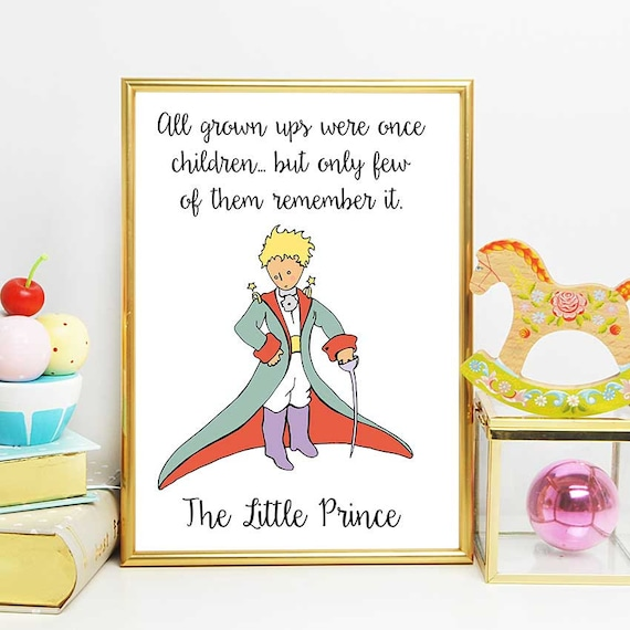 The Little Prince Party The Little Prince Children Quote The