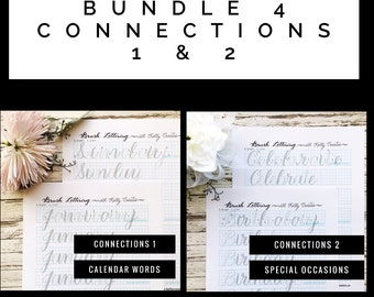 BUNDLE 4: Connections 1 & 2 for Large Brush Pens