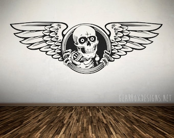 "Bones Brigade ""Ripper"" Vinyl Decal Sticker - 20"" x 5"""