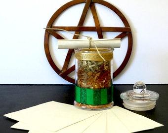 Prosperity Spell Jar