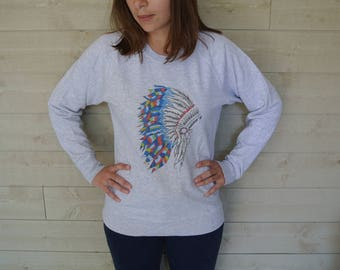 Indian woman Sweatshirt