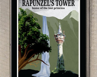 Tangled - Rapunzel's Tower poster