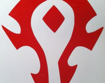 WoW-inspired Horde Decal
