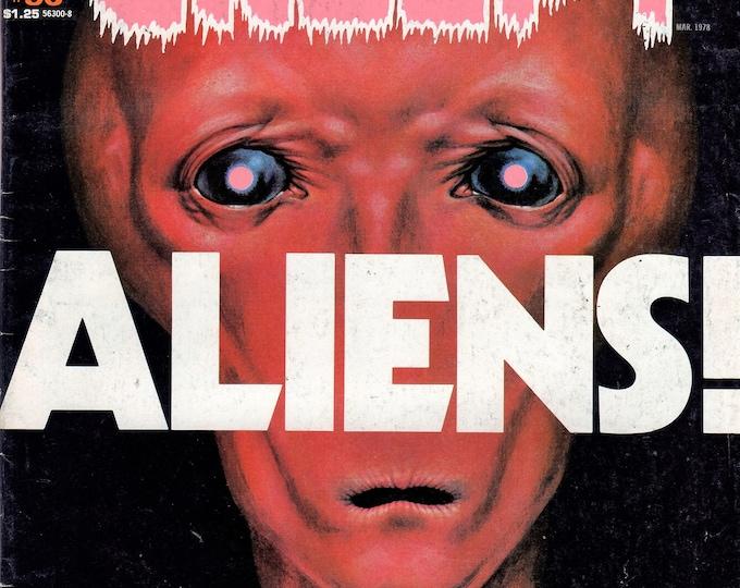 Warren CREEPY Magazine HORROR #96 March 1978 Issue Aliens! VF-