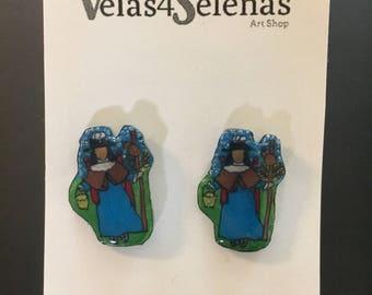 Santo Niño de Atocha Earrings