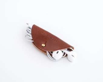 Leather Cord Taco