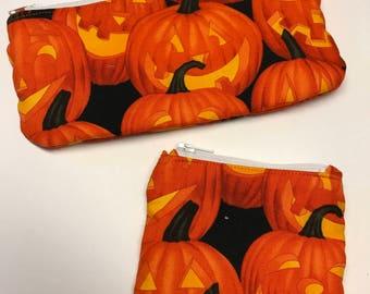 Wallet, change purse set, halloween