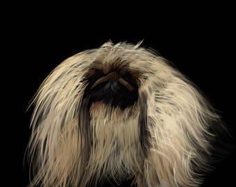 Pekingese Dog Print-Pop Art