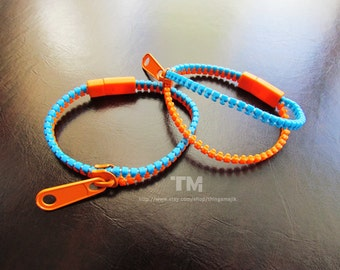PRE-ORDER: Thinking With Portals - Portal Inspired Zipper Bracelet