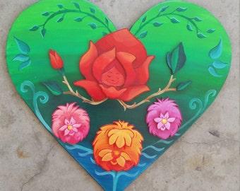 Alice in wonderland singing flowers