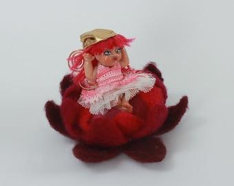 Thumbalina Fairie - Handmade from Plastic
