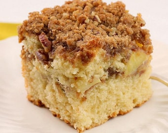 1 lb apple cinnamon streusel coffee cake,  coffee cake , apple cake, apple  pastries,holiday  pastries,apple cinnamon coffee cake