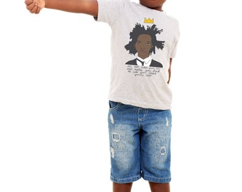 Jean-Michel Basquiat Baby Onesie, Kid's T-Shirt, or Youth Tee