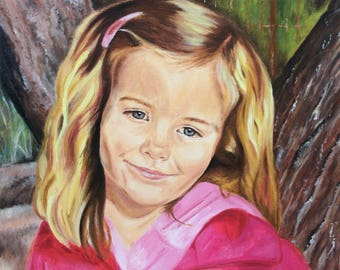 Custom Oil Portrait Custom Portrait Oil Portrait Painting from Photo Portraits