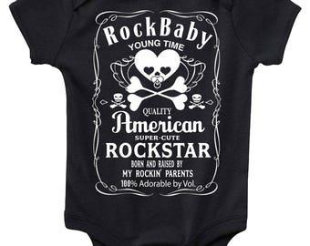 RockBaby Baby Bodysuit Cute Baby Clothes