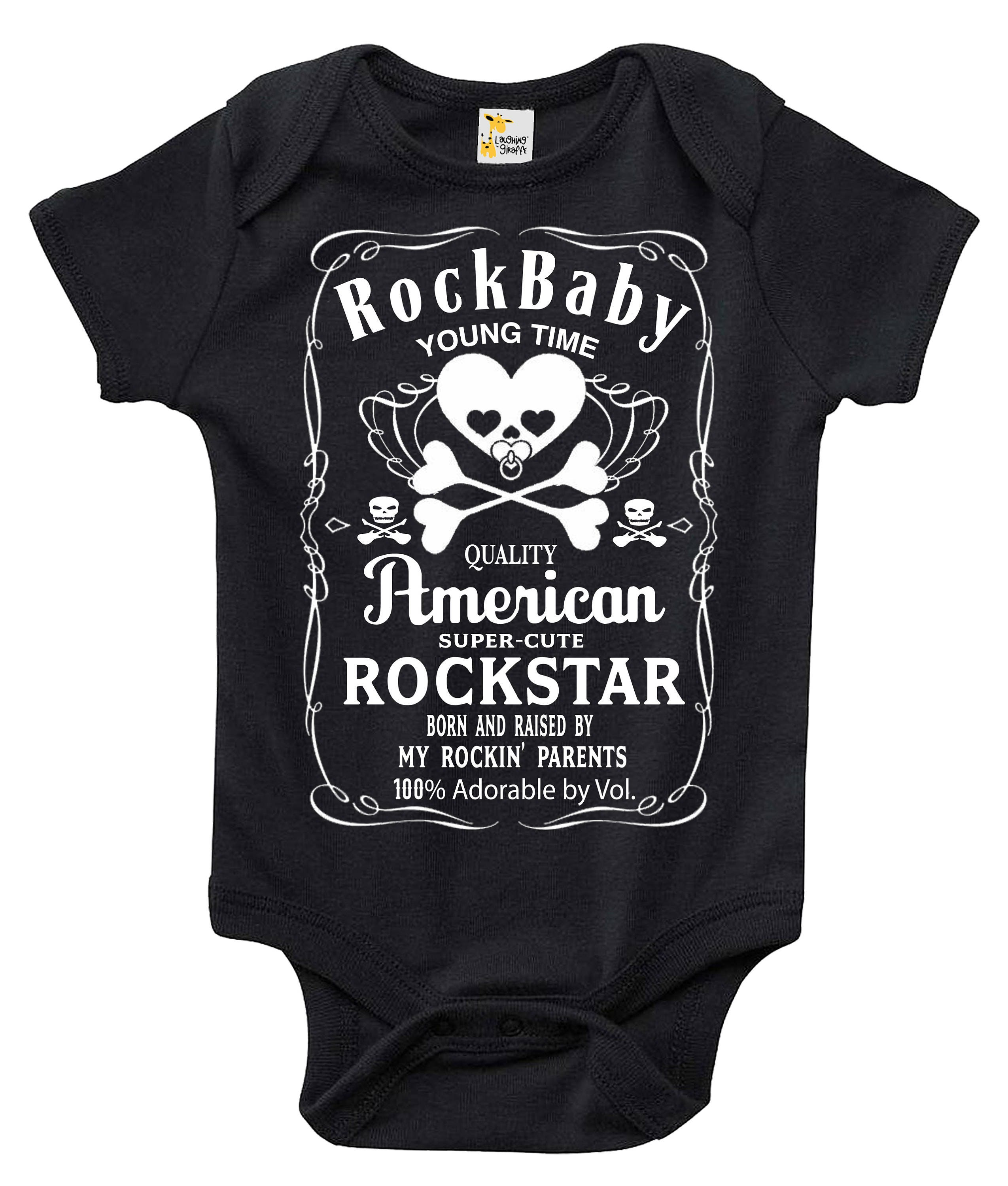 RockBaby Baby Bodysuit Cute Baby Clothes