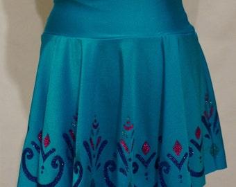 Elsa Coronation Frozen Running Skirt: