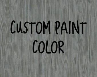Custom Paint Color