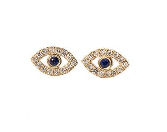 Eye Earrings set
