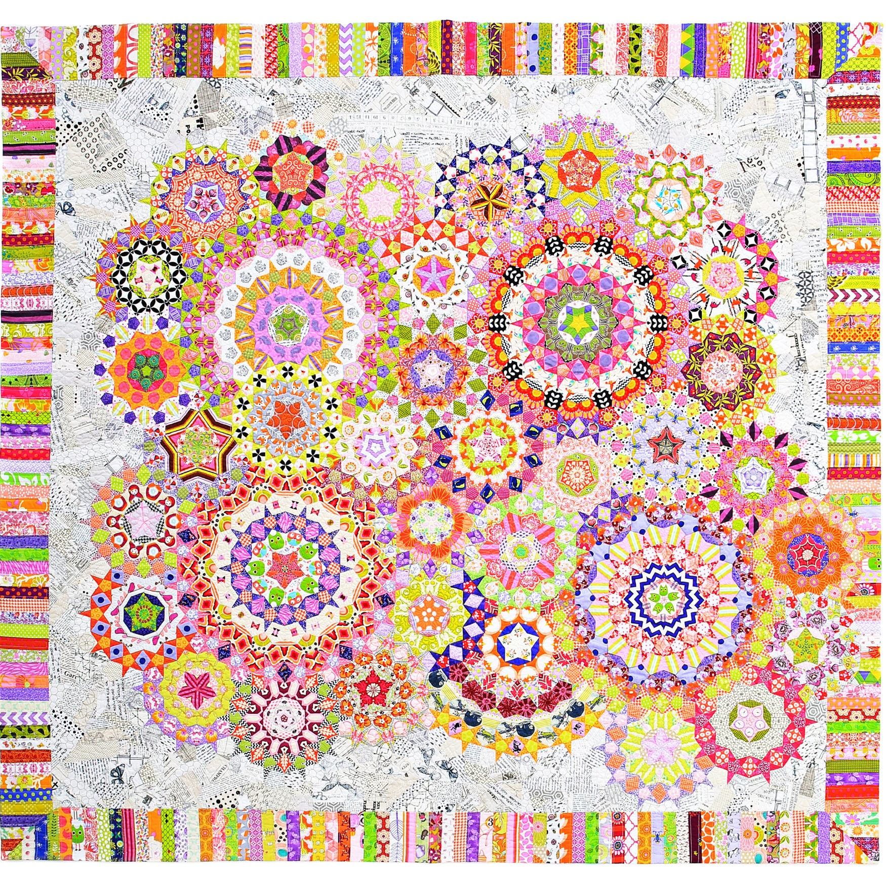 La Passacaglia Quilt Millefiori Quilts by Willyne