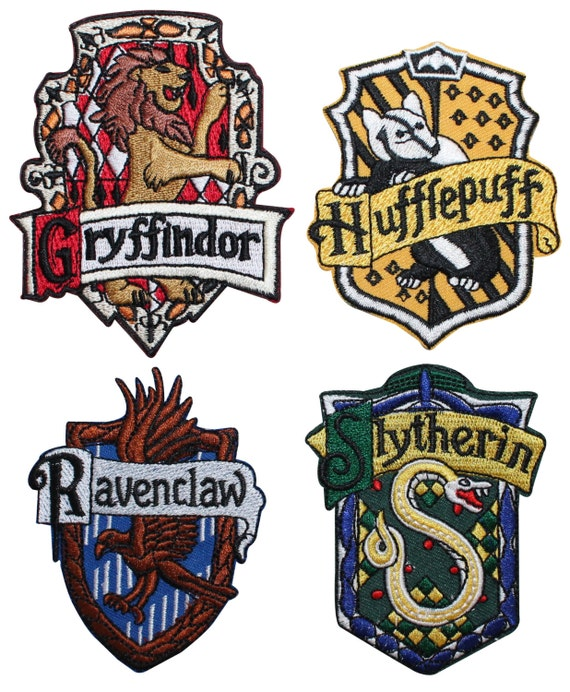 Obsessed image throughout harry potter house badges printable