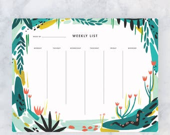 Jungle Weekly Deskpad